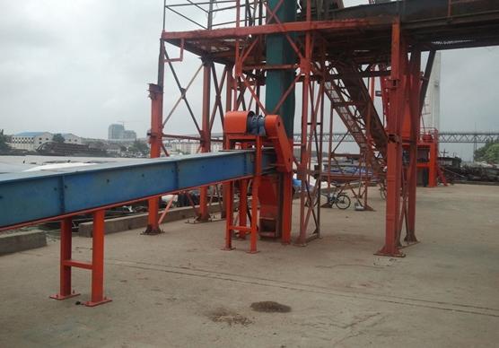 码头散粮输送系统