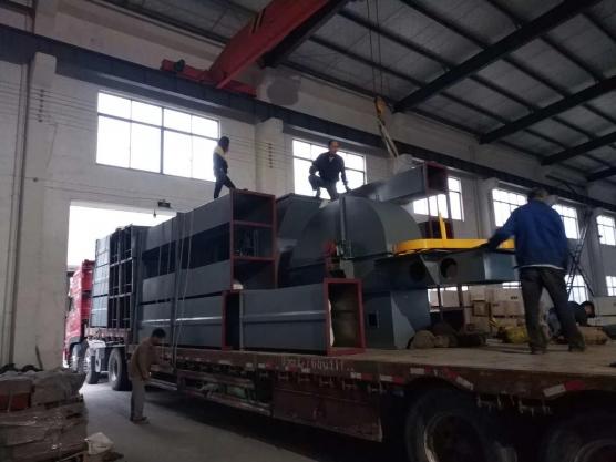 河北日产8000顿上料系统发货现场