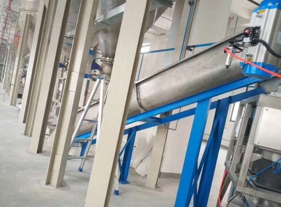 40万吨水泥仓配套1500吨每小时不锈钢输送设备