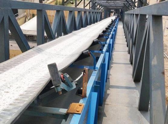 湖南长葛钢铁厂400米皮带生产线