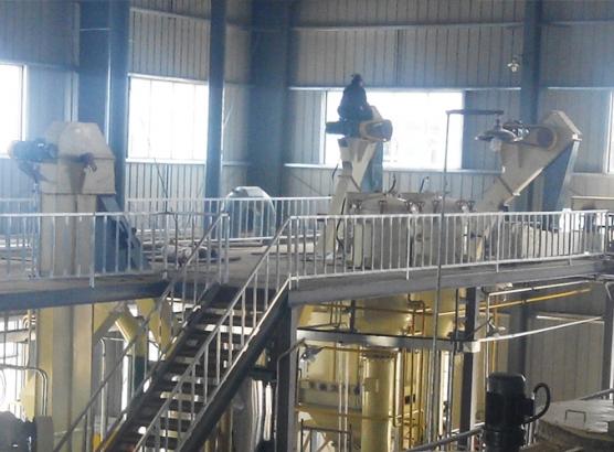 曲阜良友800吨玉米胚芽油全套生产线